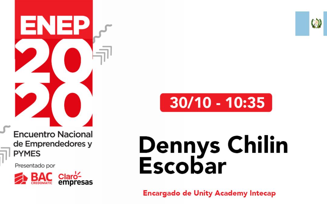 Dennys Chilin – Certificaciones Internacionales.  #ENEP